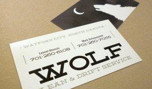 Wolf Clean & Drift Service – logo, identity