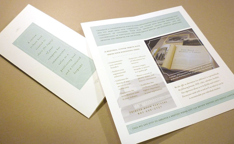 Tribute-brochure