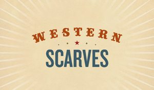 Western Scarves – book design